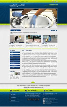 Infusion Janitorial Website Template