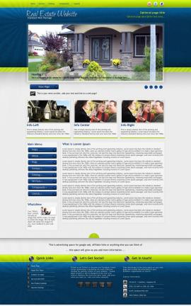 Infusion Real-estate Website Template