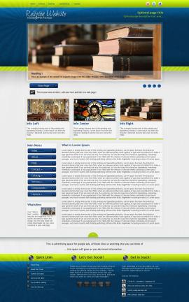Infusion Religion Web Template