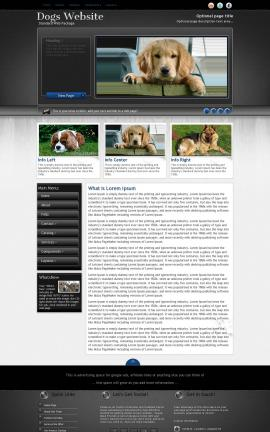 Backdrop Dogs Website Template