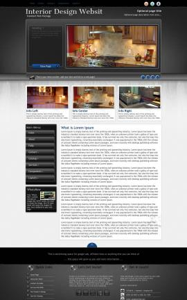 Backdrop Interior-design Website Template