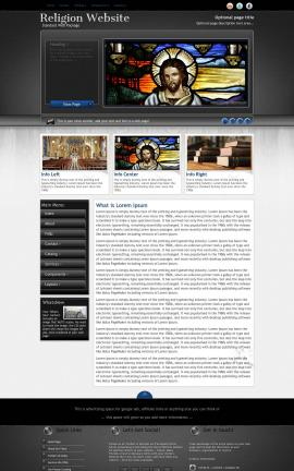 Backdrop Religion Web Template