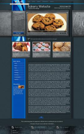 Radius Bakery Website Template