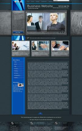 Radius Business Website Template