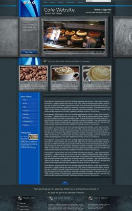 Radius Cafe Website Template