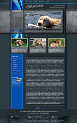 Radius Dogs Website Template