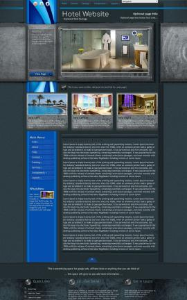 Radius Hotel Website Template