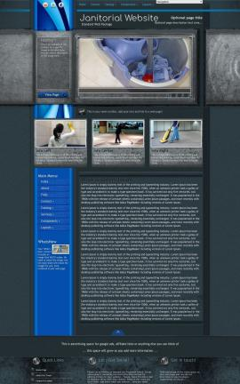 Radius Janitorial Website Template