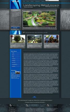 Radius Landscaping Website Template