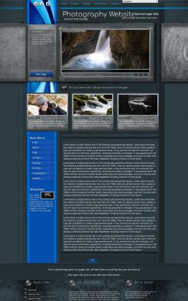 Radius Photography Website Template
