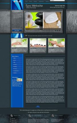 Radius Spa Website Template
