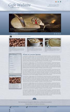 Accent Cafe Website Template