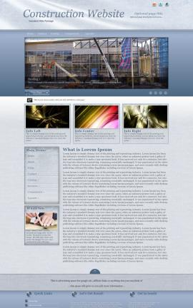 Accent Construction Website Template