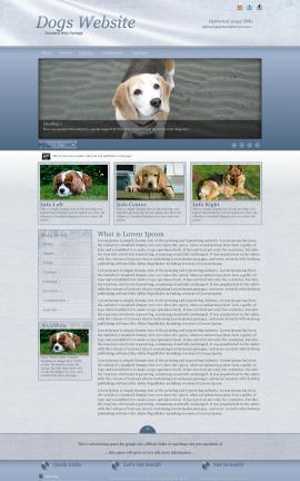 Accent Dogs Website Template