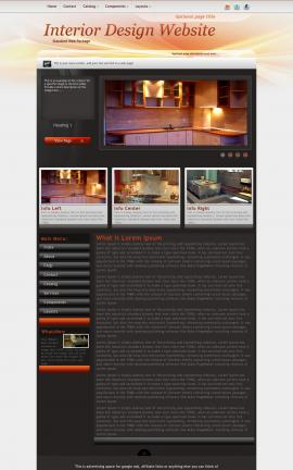 Trek Interior-design Website Template