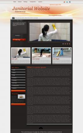 Trek Janitorial Website Template