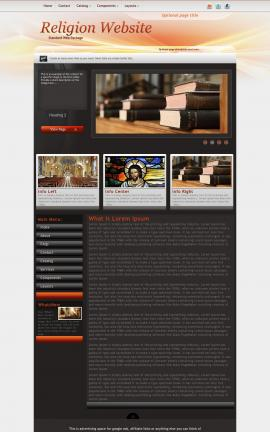 Trek Religion Web Template
