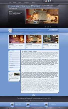 Stitch Interior-design Website Template