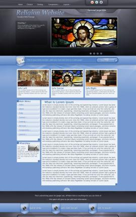 Stitch Religion Web Template
