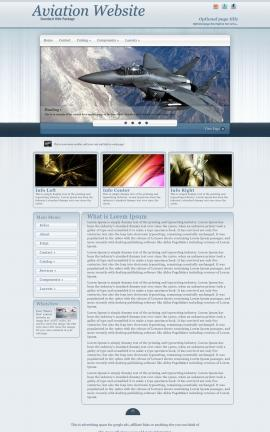 Parchment Aviation Dreamweaver Template