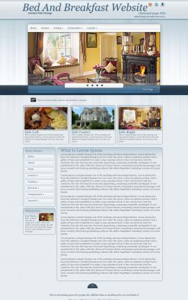 Parchment Bed-and-breakfast Website Template