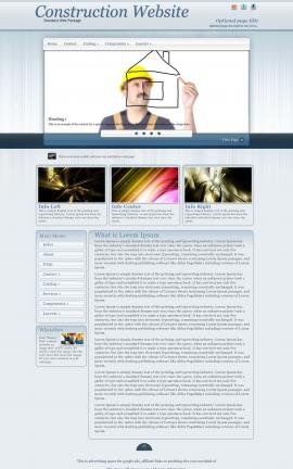 Parchment Construction Website Template