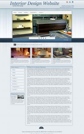 Parchment Interior-design Website Template
