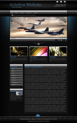 Element Aviation Dreamweaver Template