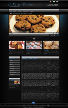Element Bakery Website Template