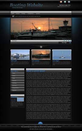 Element Boating Website Template