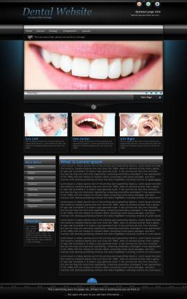 Element Dental Website Template