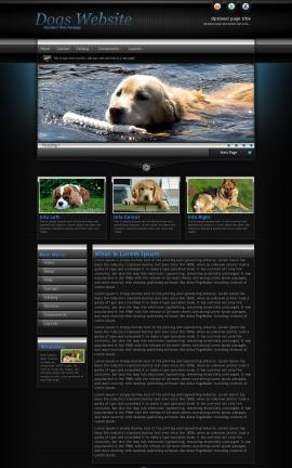 Element Dogs Website Template