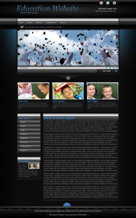 Element Education Website Template
