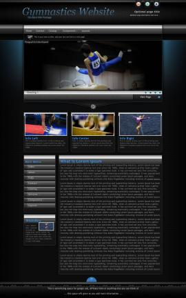 Element Gymnastics Website Template
