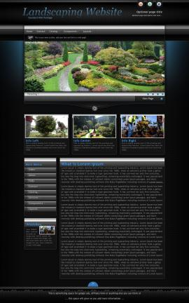 Element Landscaping Website Template