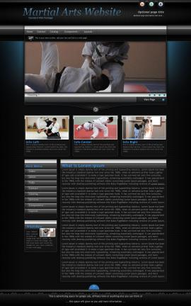 Element Martial-arts Website Template