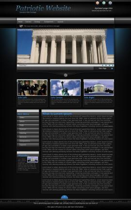Element Patriotic Website Template