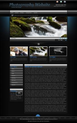 Element Photography Website Template