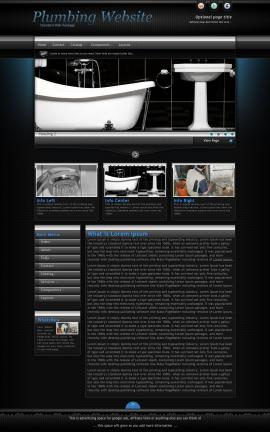 Element Plumbing Website Template
