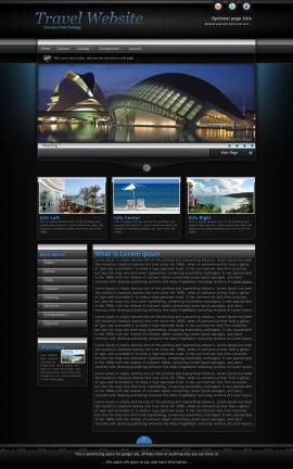 Element Travel Website Template