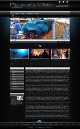 Element Videography Website Template