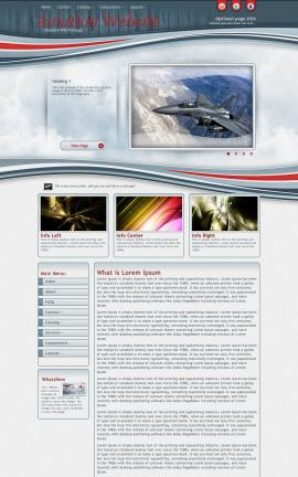 Viewport Aviation Dreamweaver Template