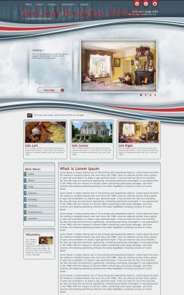 Viewport Bed-and-breakfast Website Template
