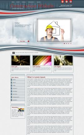 Viewport Construction Website Template