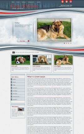 Viewport Dogs Website Template