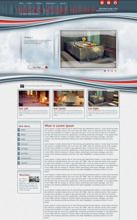 Viewport Interior-design Website Template