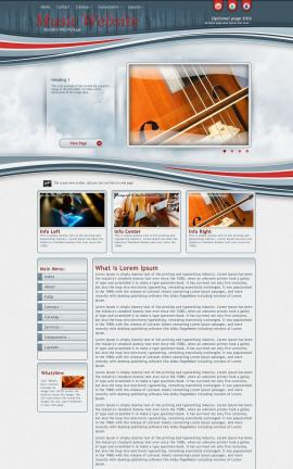 Viewport Music Website Template