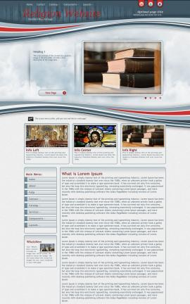 Viewport Religion Web Template