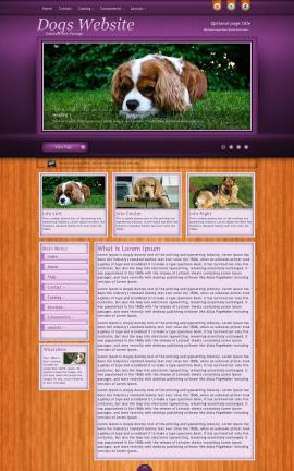 Immersion Dogs Website Template