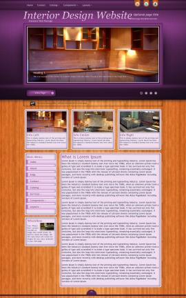 Immersion Interior-design Website Template